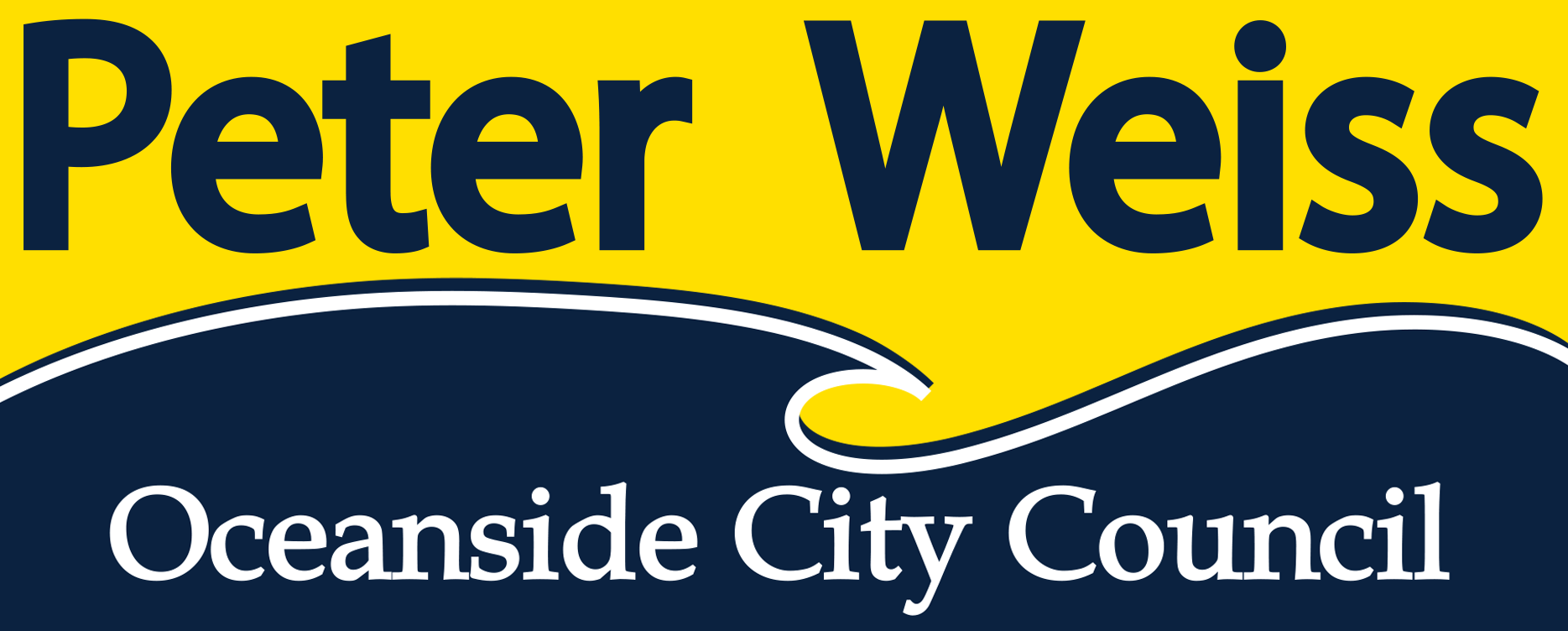 Peter Weiss for Oceanside Council